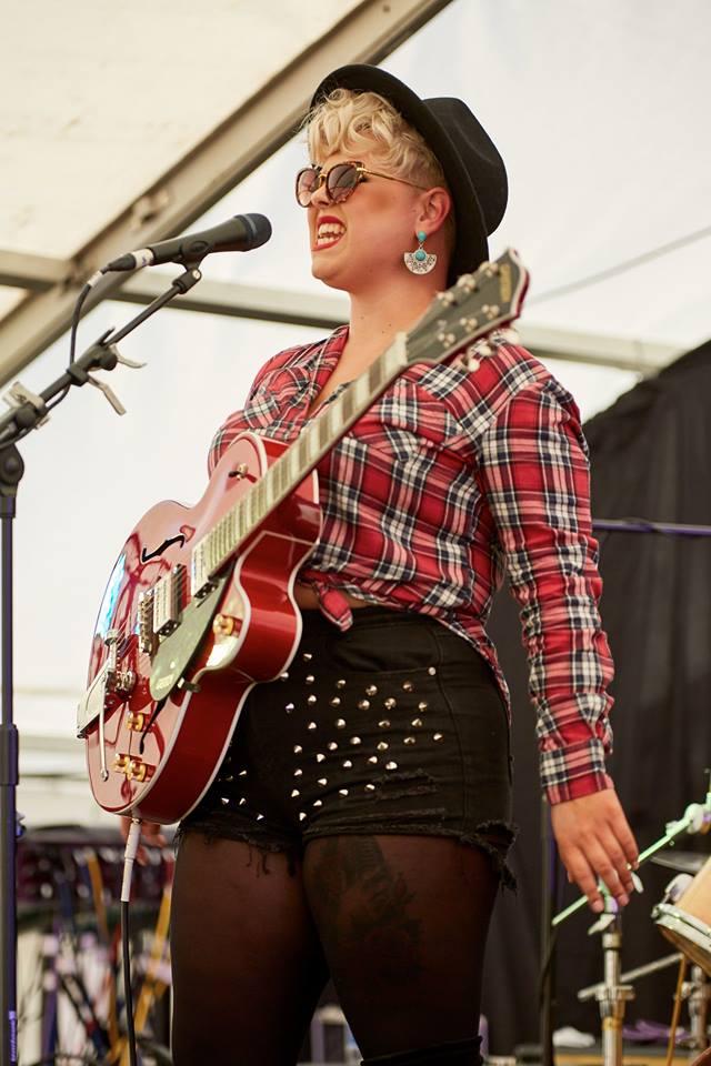 Musician Hayley Jordan