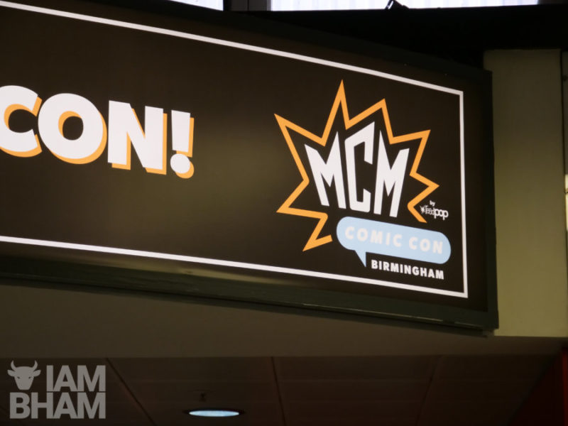 MCM Comic Con is taking place at the NEC in Birmingham