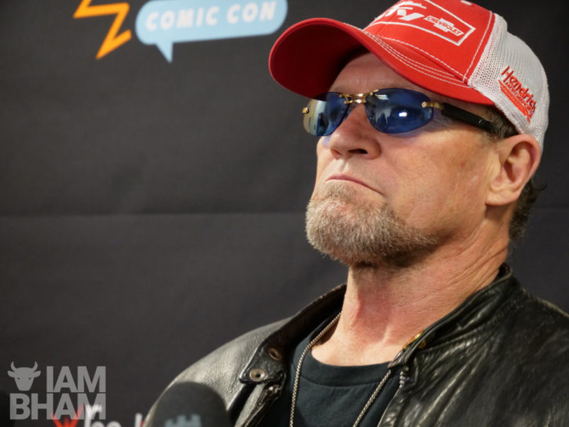 Michael Rooker at MCM Comic Con Birmingham