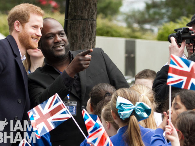 Prince Harry and Meghan Markle in Birmingham by Lensi Photography