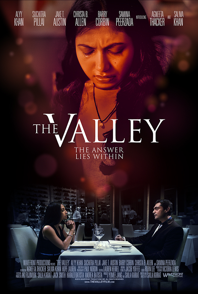 The promotional poster for film The Valley