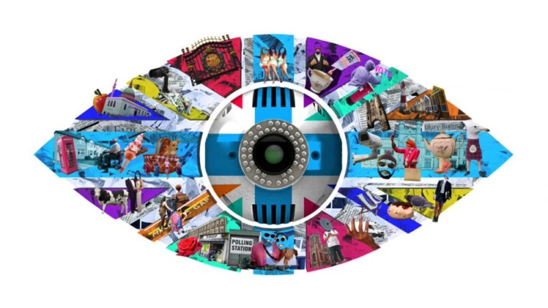 The current logo for the UK version of reality TV show Big Brother