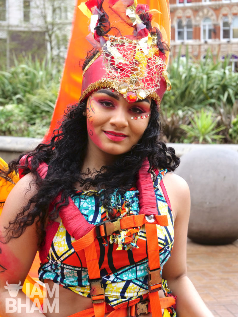 Lauren Williams from dance group ACE Dance and Music will be showcasing African and Caribbean fusion dance in Victoria Square