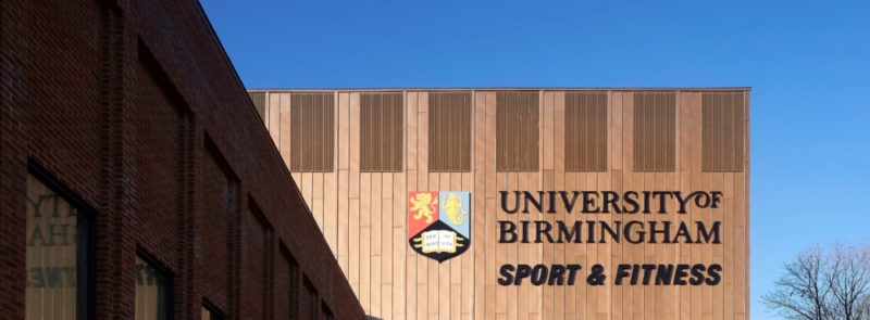The new Sport and Fitness Centre at University of Birmingham could be used for training ahead of the 2022 Commonwealth Games in the city