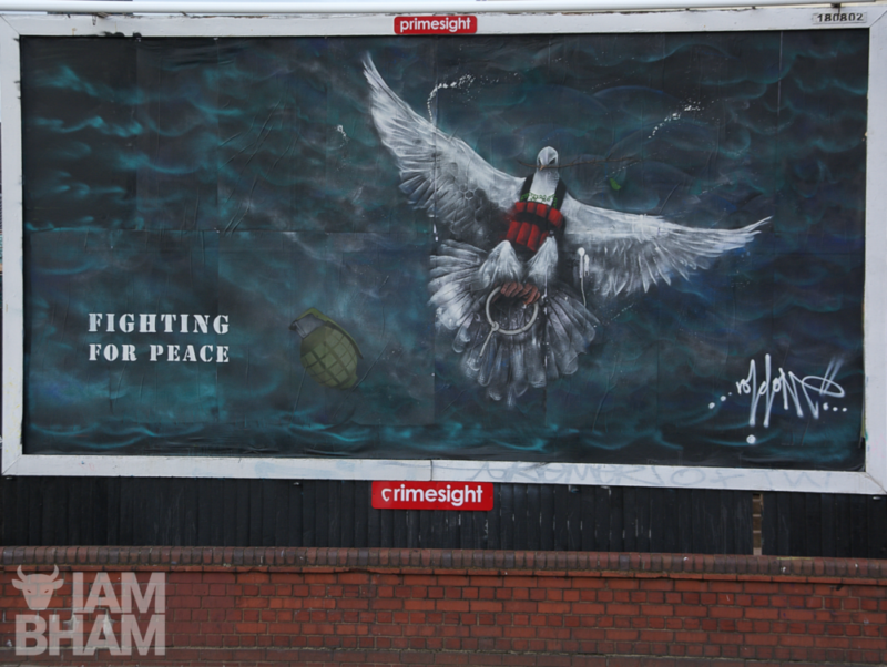 'Death From A Dove, Fighting For Peace' by Void One