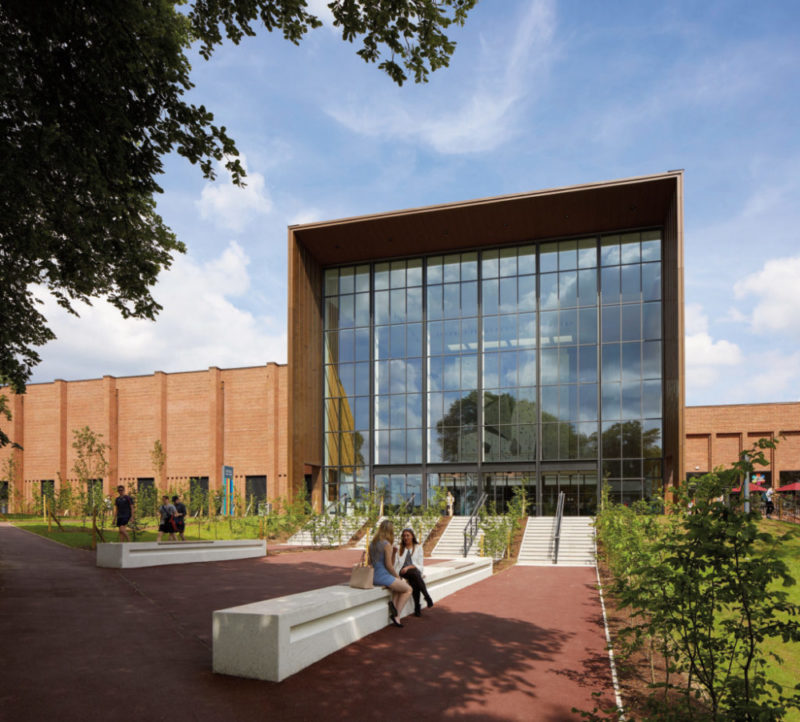 The new Sport and Fitness Centre at University of Birmingham