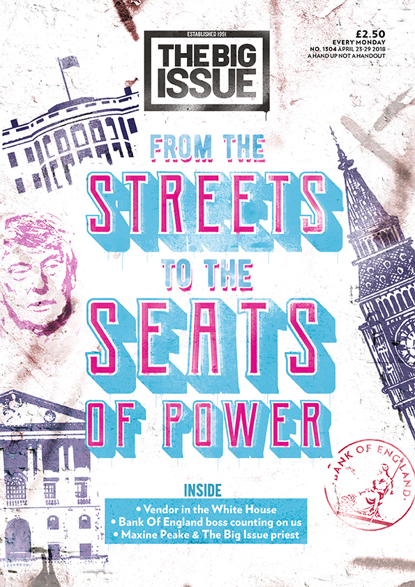 The current issue of The Big Issue magazine
