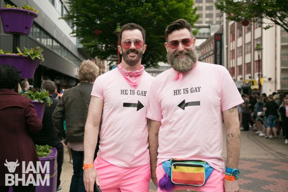 Birmingham Pride 2018 photo by Lensi Photography
