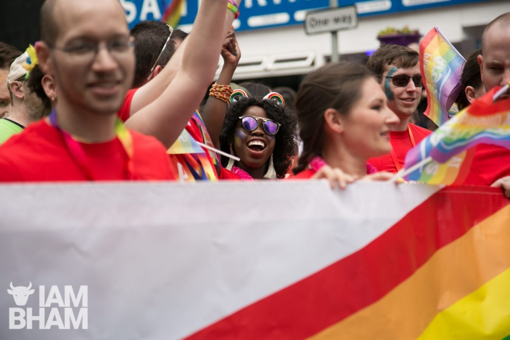 Birmingham Pride celebrations are taking place in the city over the Bank Holiday weekend