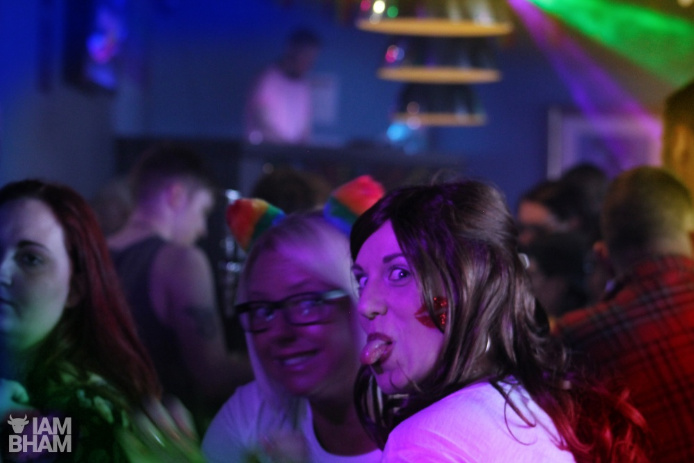 Birmingham Pride 2018. Sidewalk bar photo by Harvey McDonald