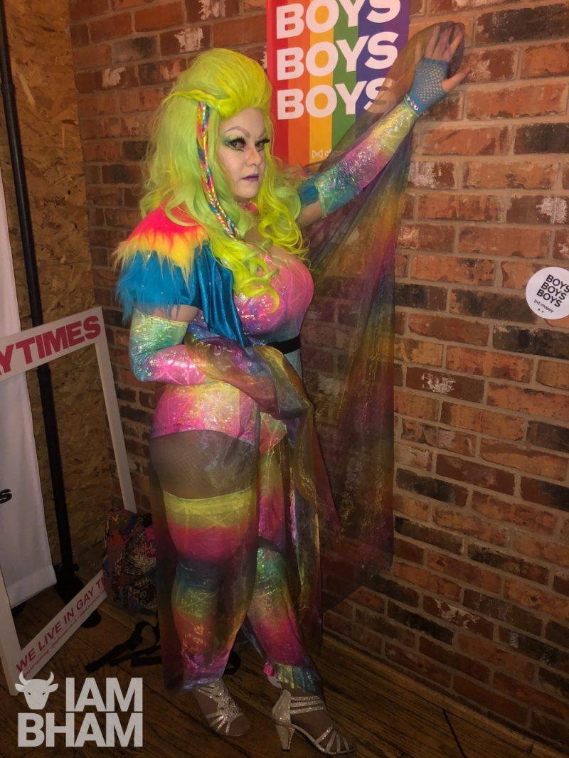 Tanya McKenzie, drag artist in Birmingham
