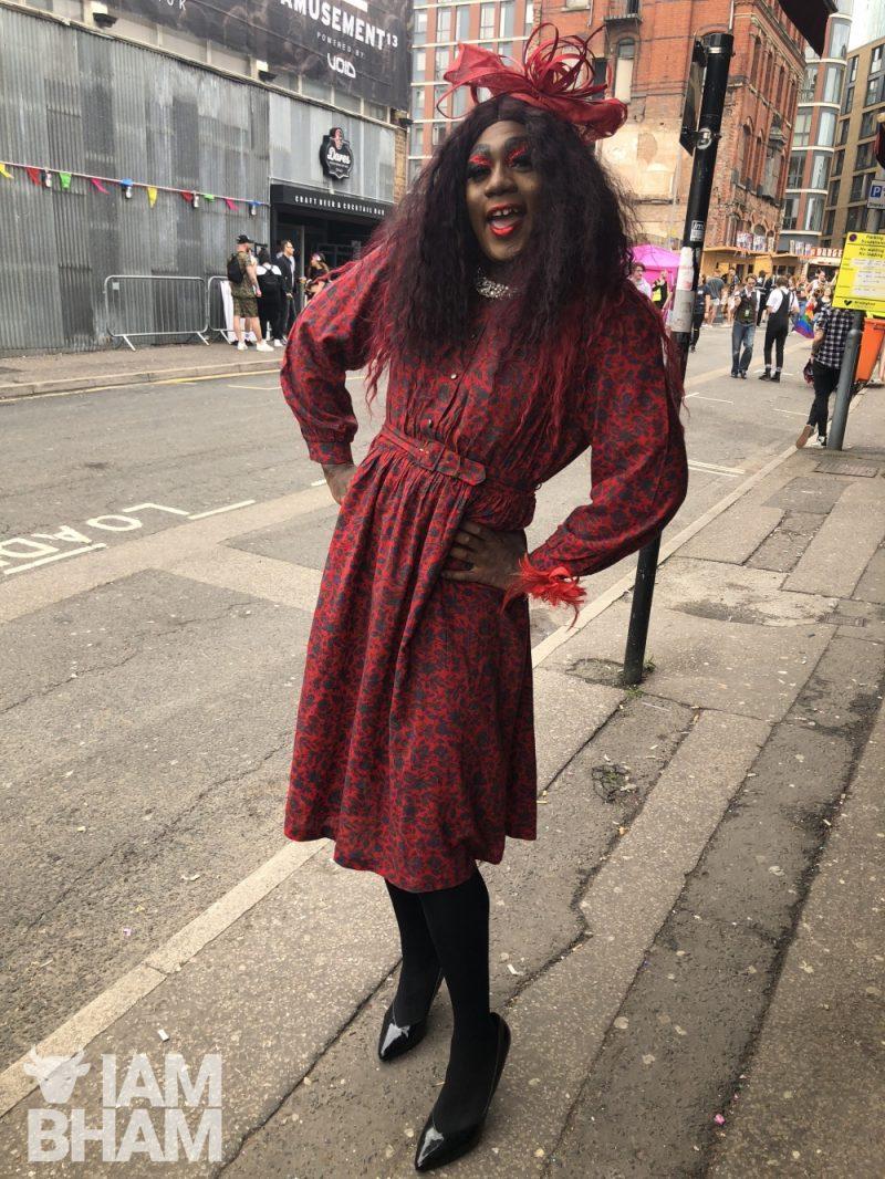Yshee Black, drag artist from Birmingham  - @ysheeblack