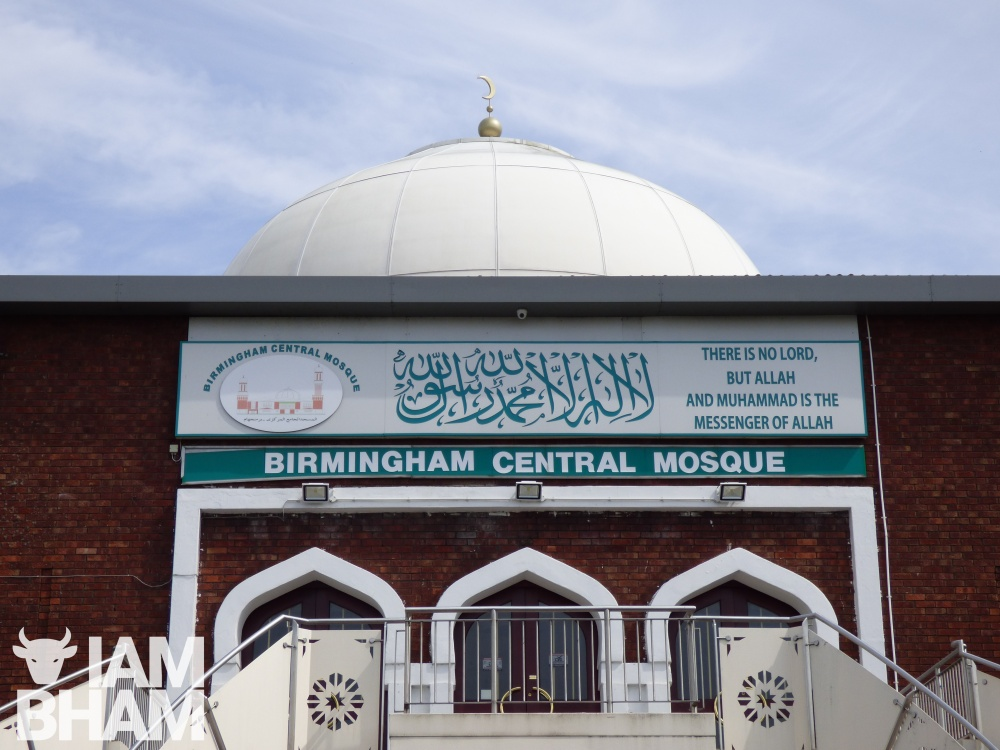 Birmingham Central Mosque gets a dome shine ahead of Ramadan