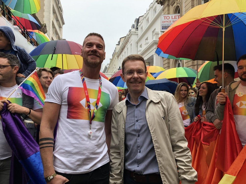 Andy Street backs greater representation at Birmingham Pride