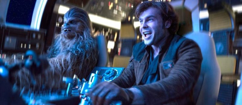Alden Ehrenreich plays a young Han Solo in the latest Star Wars film