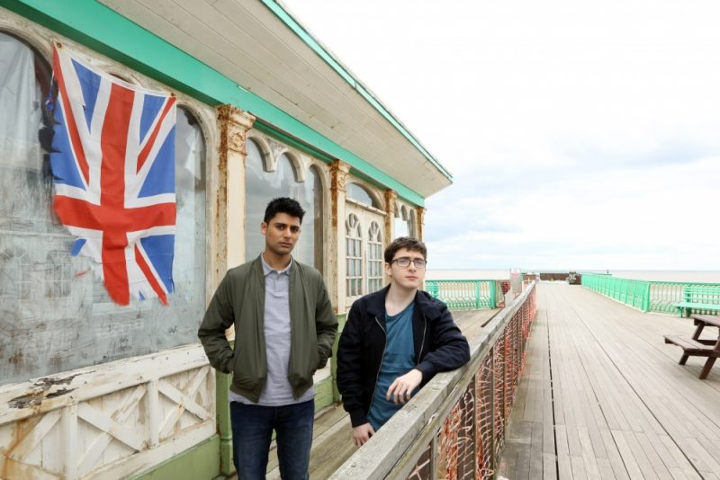 Lead stars Antonio Aakeel and Jack Carroll in Brit-flick Eaten by Lions