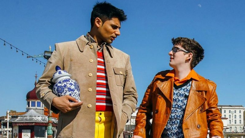 Antonio Aakeel and Jack Carroll in Eaten by Lions