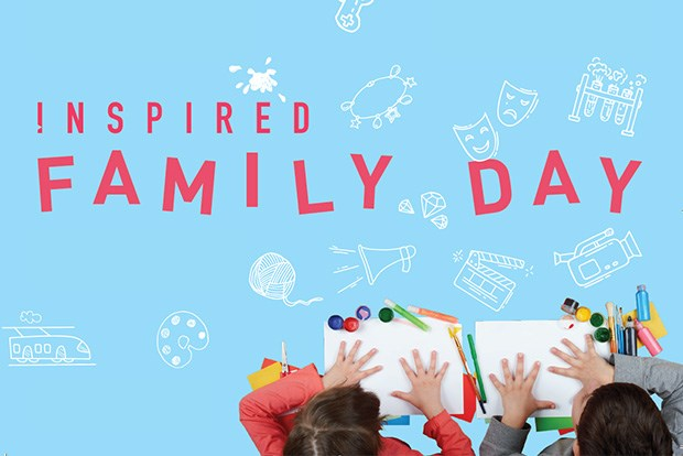 he BCU's Inspired Family Day on Saturday 9 June