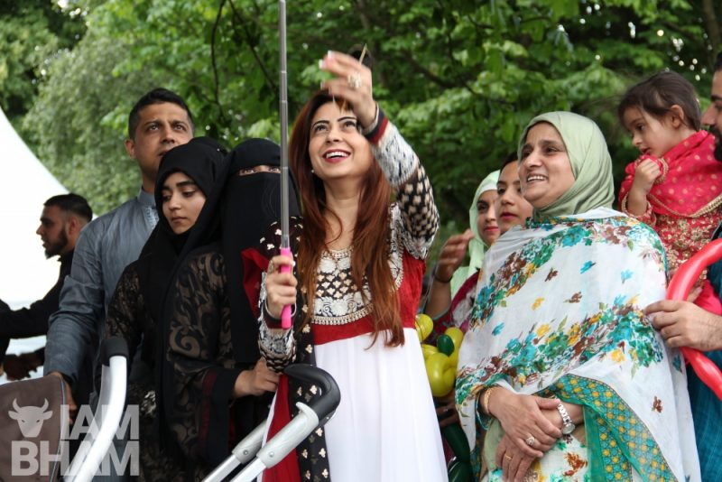 Muslims celebrate Eid at Small Heath Park in Birmingham