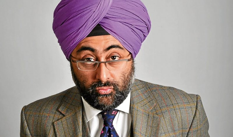 Hardeep Singh Kohli will be joining Shazia MIrza at New Hall Hotel, Sutton Coldfield