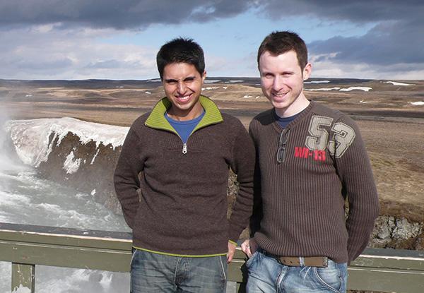 Nazim Mahmood and Matthew Ogston