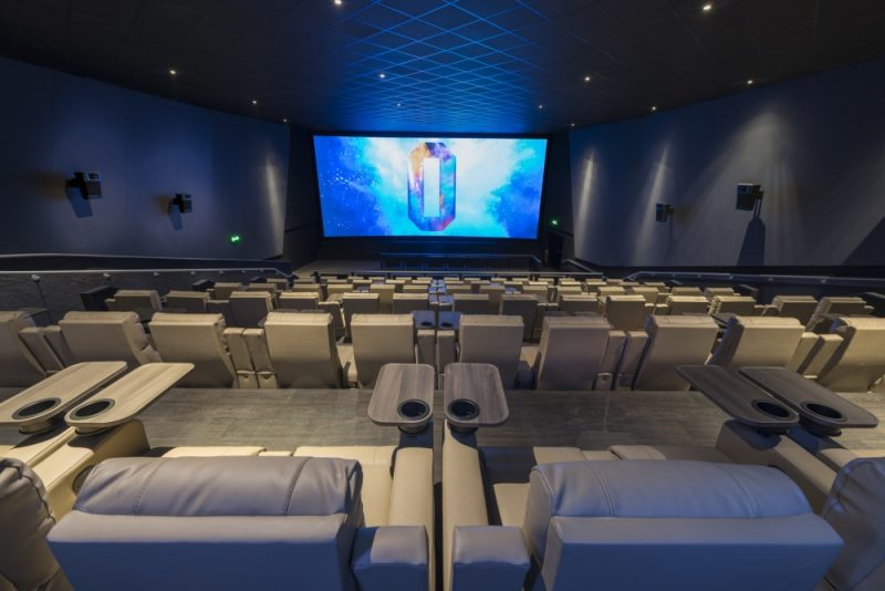 The Birmingham ODEON cinema will feature 1,264 luxury handmade reclining seats across its 12 upgraded screens