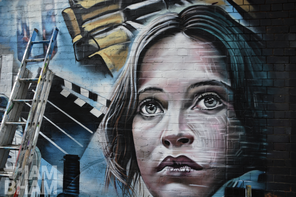 Impressive new 'Star Wars' mural unveiled in Birmingham city centre