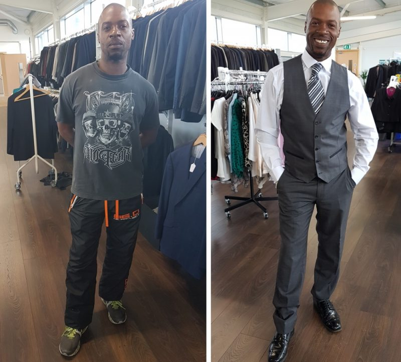 Suited for Success help unemployed people dress to impress for job interviews and work placements