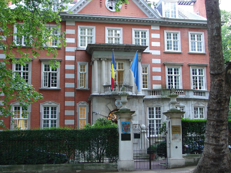 The Embassy of Romania in London