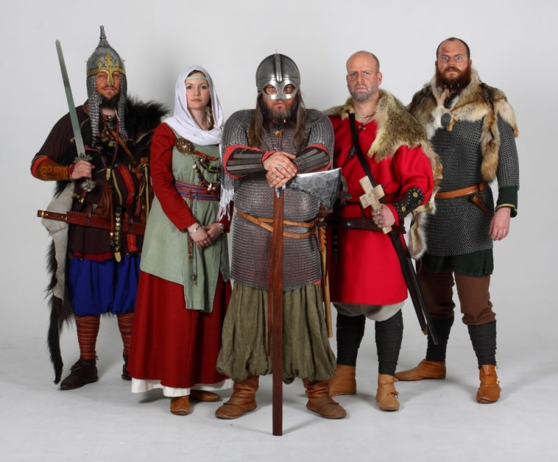 Viking Heroes at Wolverhampton Art Gallery