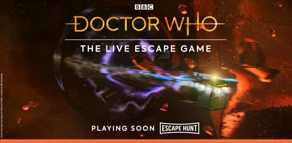 Doctor Who themed live 'Escape Rooms' are heading to Birmingham