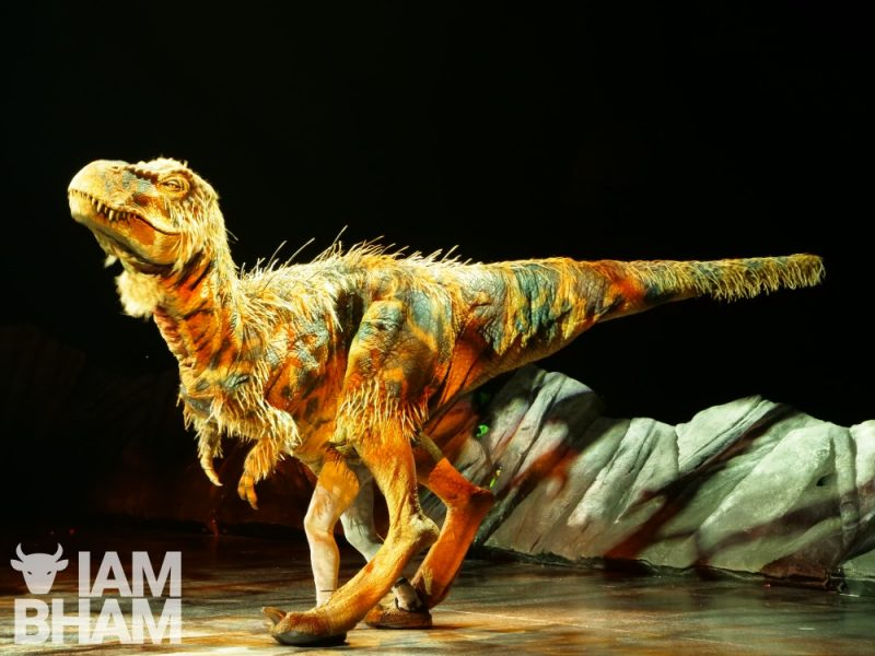 The television version of the BBC's Walking with Dinosaurs has been seen by over 9 million people