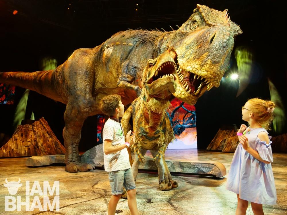 Awe-inspiring Walking with Dinosaurs spectacular rocks Birmingham