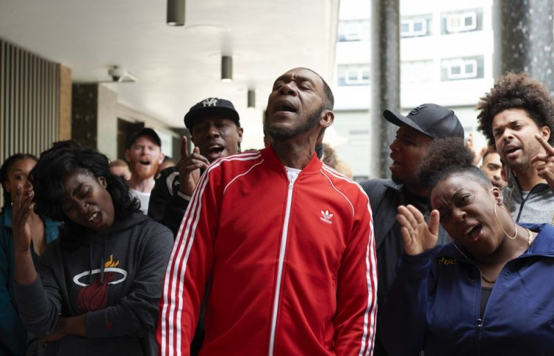 Lenny Henry as Stormzy for his 60th birthday special