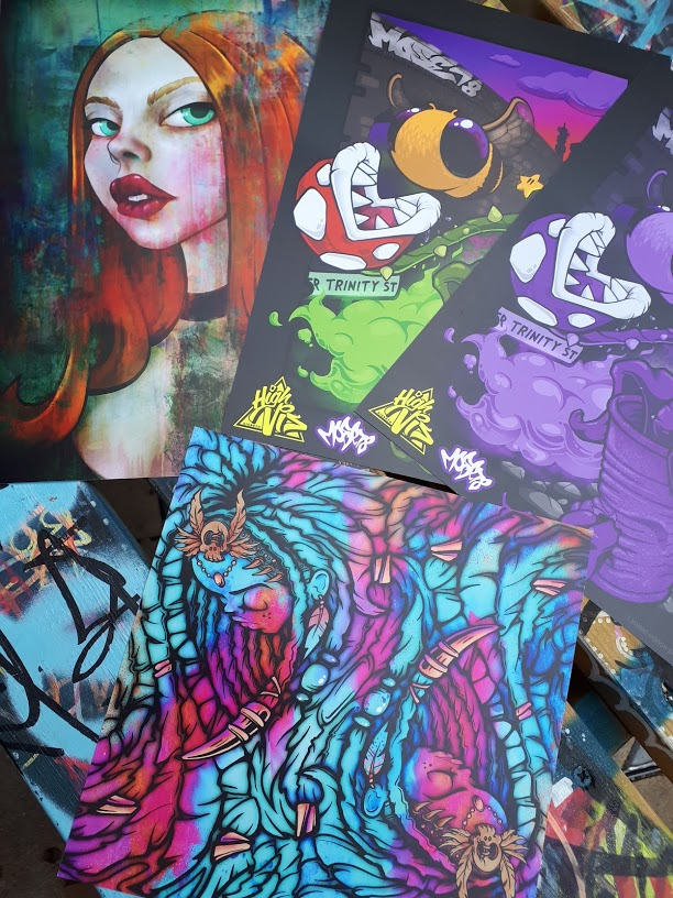 Street art, comics and music will be on showcase at High Vis Fest