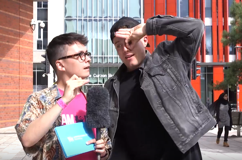 VIDEO: Roman Kemp interview at BCU Fest in Birmingham