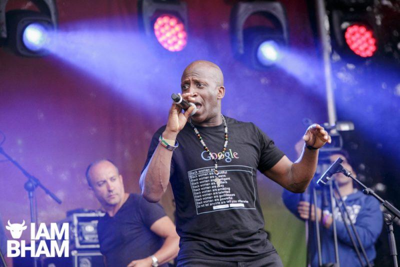 Dennis Lloyd performs at Simmer Down Festival 2018