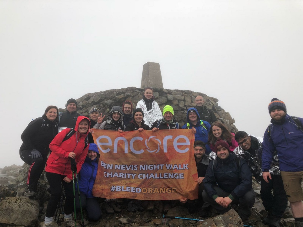 Staff at city firm reach new heights raising £9,000 for charity