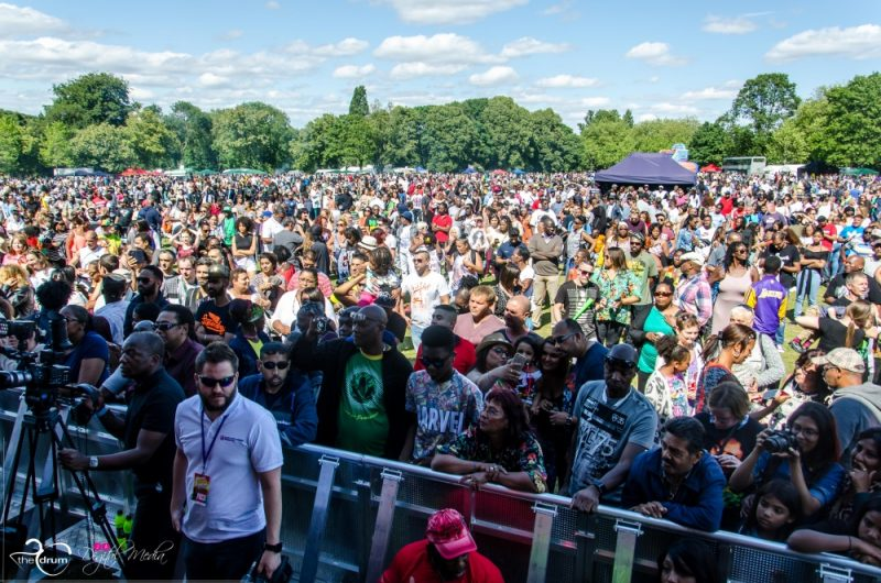 The Simmer Down Festival in Handsworth Park