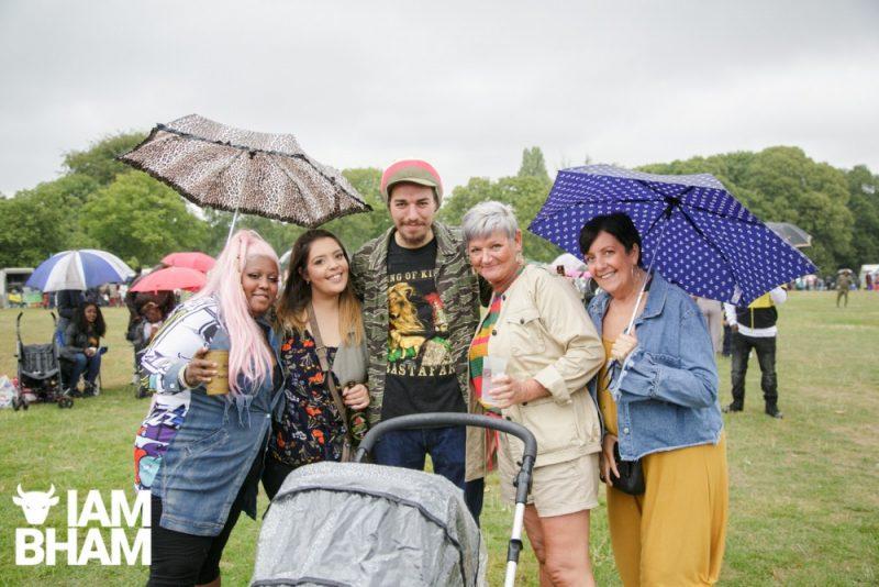 Family feel at Simmer Down Festival 2018 in Birmingham