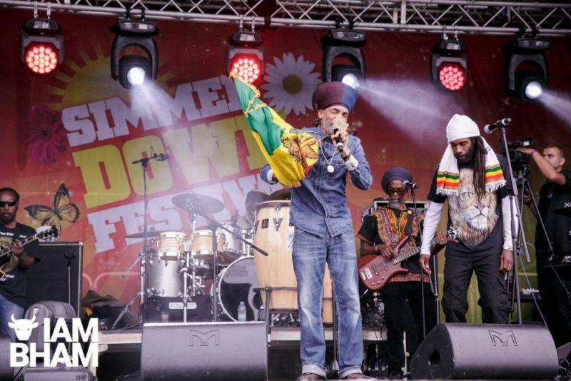 Iqulah Rastafari belts out his reggae hits at Simmer Down Festival 2018