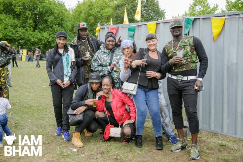 Friends at Simmer Down Festival 2018 in Birmingham