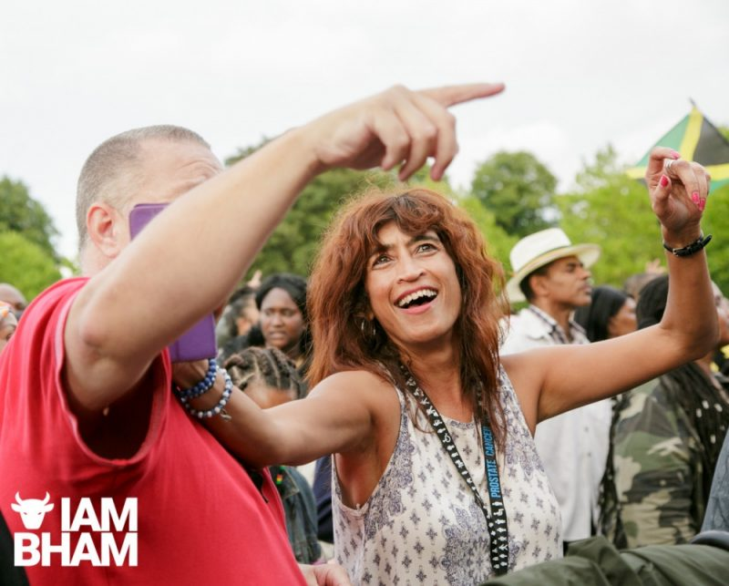Shiny happy people at Simmer Down Festival 2018 in Birmingham
