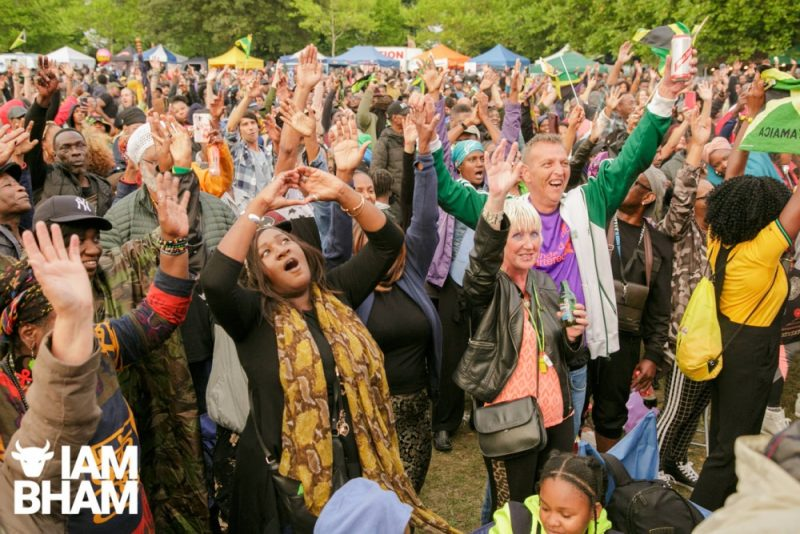 Crowds at Simmer Down Festival 2018