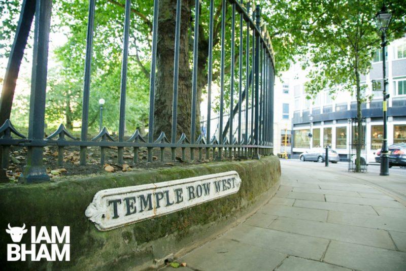 Serve Birmingham is located in Temple Row in Birmingham city centre
