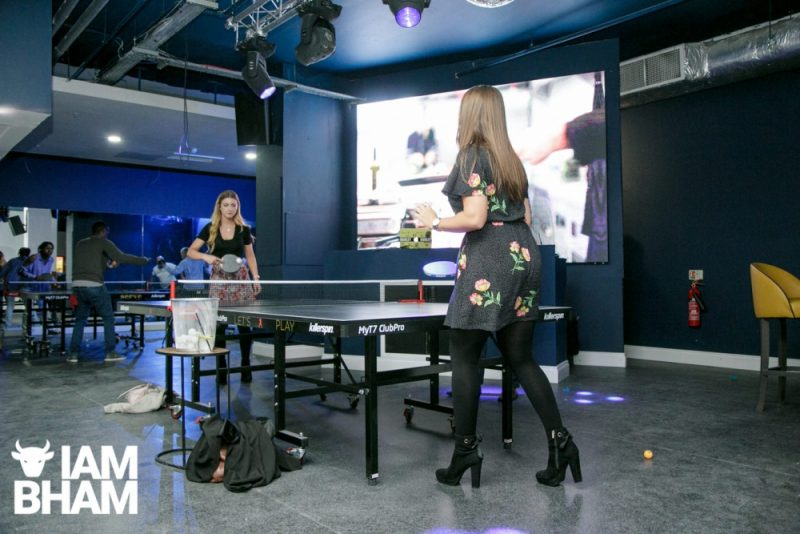 Playing ping pong in heels doesn't seem practical but can Serve Birmingham marry its conflicting identities?