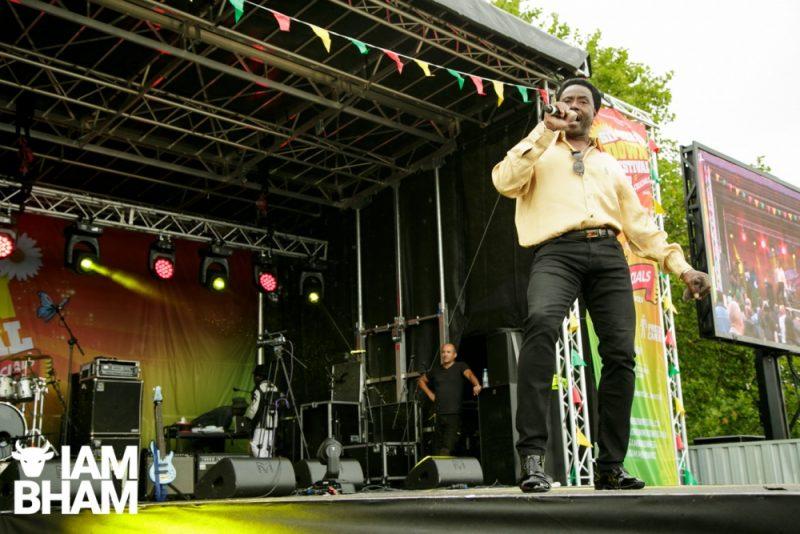 Britain's Got Talent finalist Donchez at Simmer Down Festival 2018