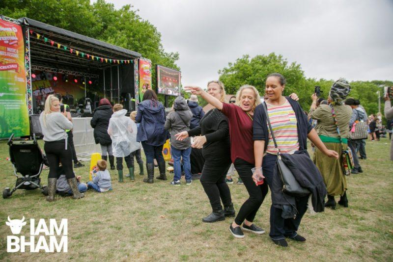 Revellers at Simmer Down Festival 2018