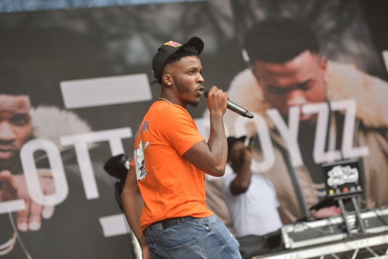 Lotto Boyzz at Eastside Park in Birmingham for BCU Fest, the Birmingham City's University's first-ever student festival