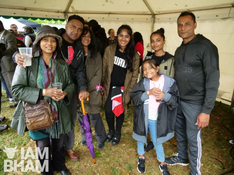 Attendees at the Simmer Down Festival 2018 in Handsworth Park in Birmingham in a photo by Adam Yosef